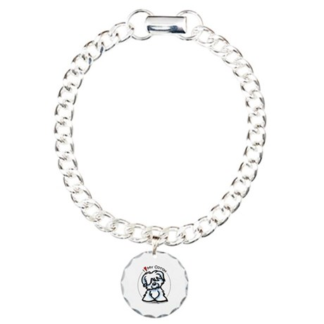 Love my Coton Charm Bracelet, One Charm