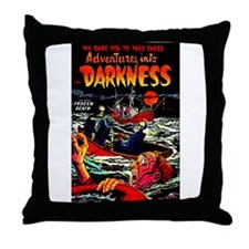 Adventures Into Darkness Throw Pillow