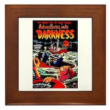 Adventures Into Darkness Framed Tile