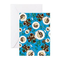 Inuit Boy and Fish Greeting Cards (Pk of 10)