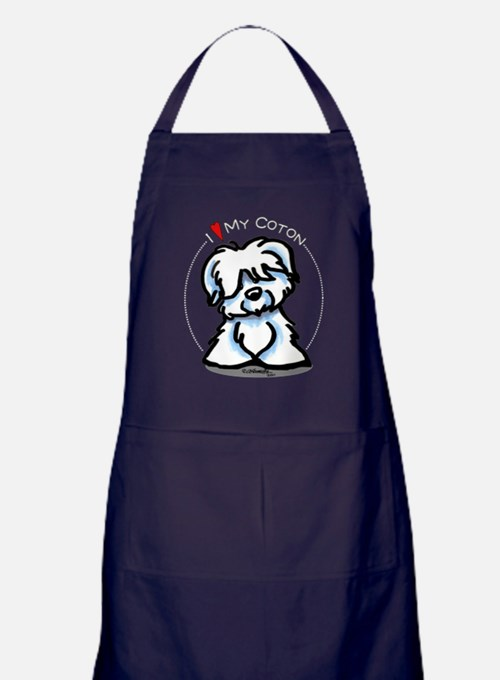 Love my Coton Apron (dark)
