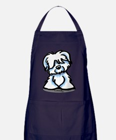 Coton Cartoon Apron (dark)