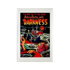 Adventures Into Darkness Rectangle Magnet