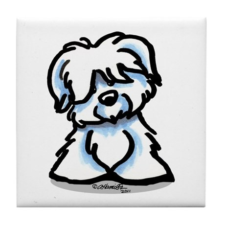 Coton Cartoon Tile Coaster