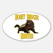 Honey Badger Hunter Decal