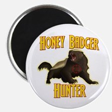 """Honey Badger Hunter 2.25"""" Magnet (100 pack)"""