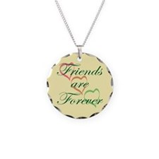 Friends Forever Necklace Circle Charm