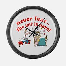 Veterinarian Large Wall Clock