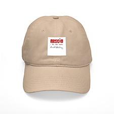 Nescio - Arnold Geulincx Baseball Cap