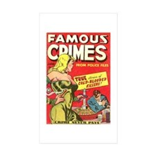 Famous Crimes Decal