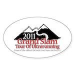 Grand Slam of Ultrarunning Sticker (Oval)