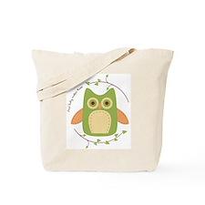 Baby Makes Three, Tote Bag