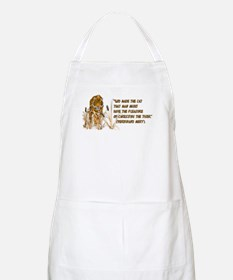 Tiger In Bullrushes BBQ Apron