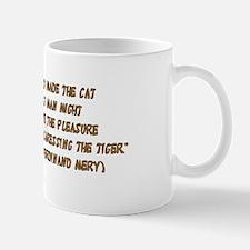 Tiger In Bullrushes Mug