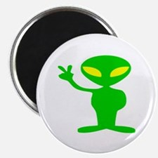 Aliens For Peace Magnet