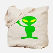 Aliens For Peace Tote Bag