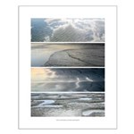 16x20 Poster - Sky, Water, Reflections