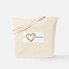 I heart hummus Tote Bag