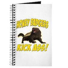 Honey Badgers Kick Ass Journal