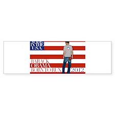 Obama: Born to RUN! Bumper Sticker