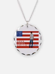 Obama: Born to RUN! Necklace