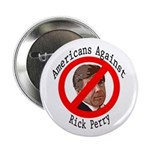 Americans Against Rick Perry political button