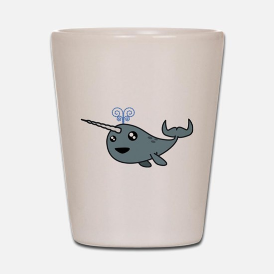 Narwhal! Shot Glass