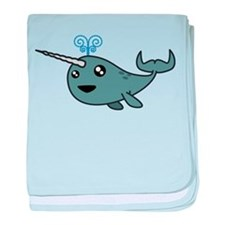 Narwhal! baby blanket