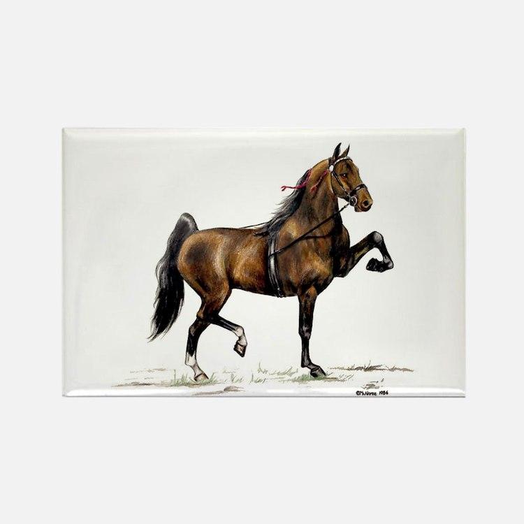 Hackney Pony Rectangle Magnet