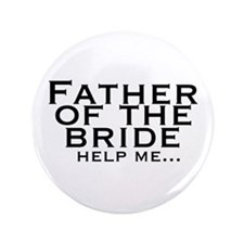 "FOB-Wedding 3.5"" Button"