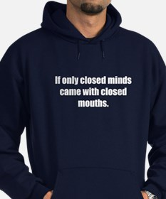 Closed Minds (Dark Hoodie)