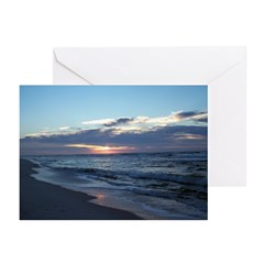 Gulf Shores Beach Greeting Cards (Pk of 10)