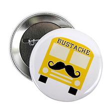 """Bustache Bus Mustache 2.25"""" Button"""