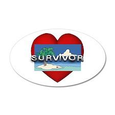 Survivor Love Wall Decal
