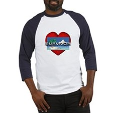 Survivor Love Baseball Jersey