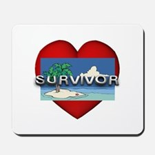 Survivor Love Mousepad