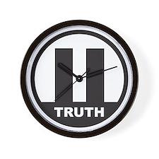 9/11 Truth Symbol Wall Clock
