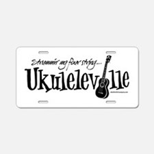 Ukuleleville Aluminum License Plate