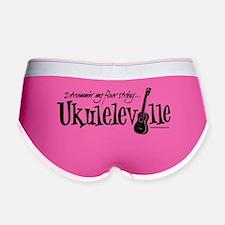 Ukuleleville Women's Boy Brief