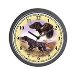 German Pointer Wall Clock