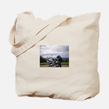 Cool Smokey mountains Tote Bag