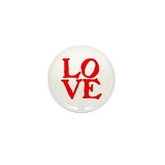 LOVE IIII Mini Button (100 pack)