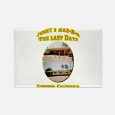 Jerry's Bar-B-Q The Last Days Rectangle Magnet