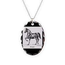 Morgan Horse Necklace