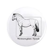 "Norwegian Fjord 3.5"" Button"