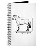 Fjord horse Journals & Spiral Notebooks