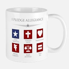 Cute One nation under god Mug
