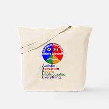 Autistic Spectrum Tote Bag