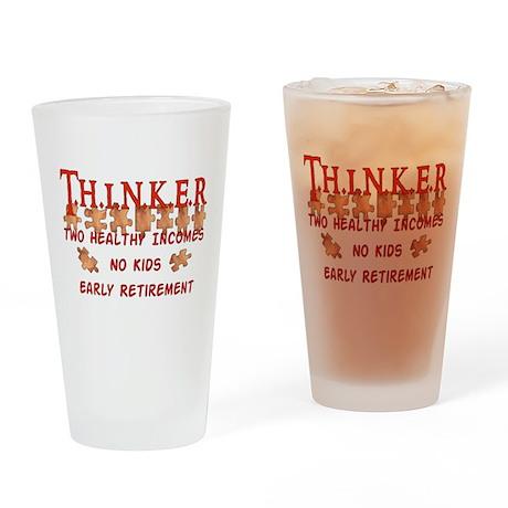 Child-Free Thinker Pint Glass