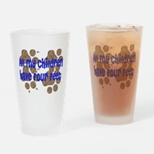 Four-Footed Children Pint Glass